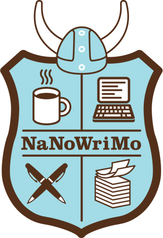 NaNoWriMo badge logo